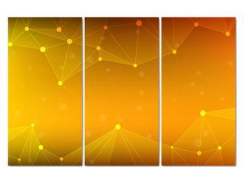 Abstraktní žlutý obraz (V020045V120803PCS)
