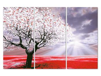 Červený obraz stromu (V020052V120803PCS)