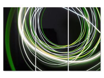 Obraz zelených čiar (V020054V120803PCS)