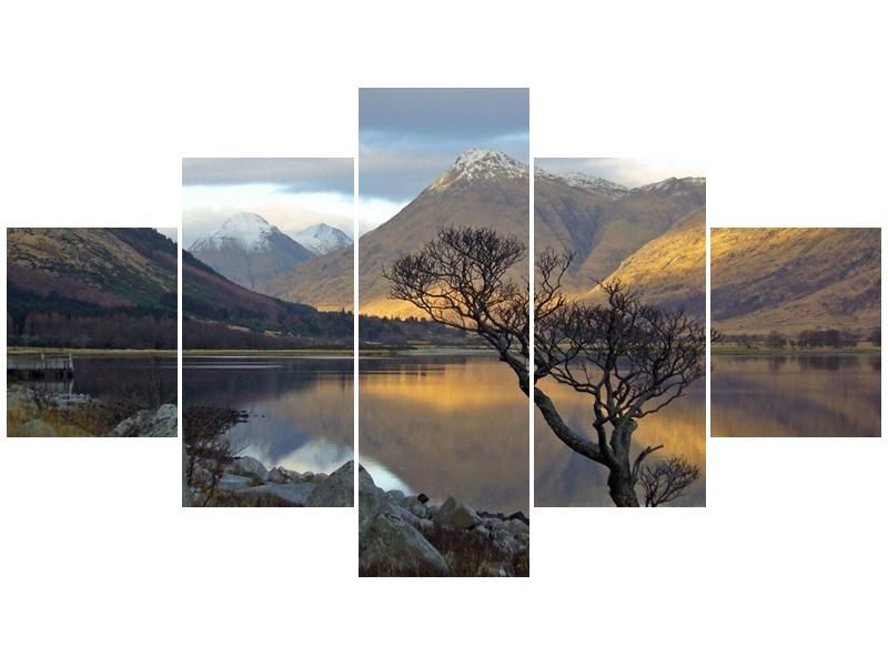 Obraz hor u jezera (F000686F12570)