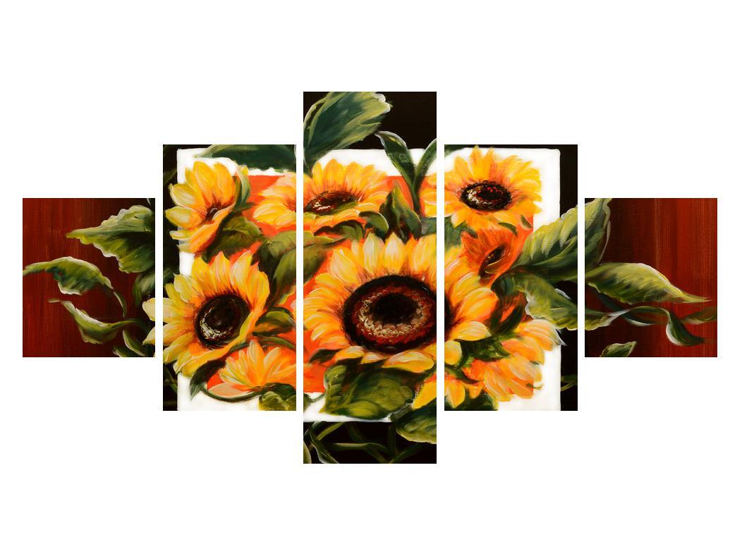 Tablou cu floarea soarelui (K011496K12570)