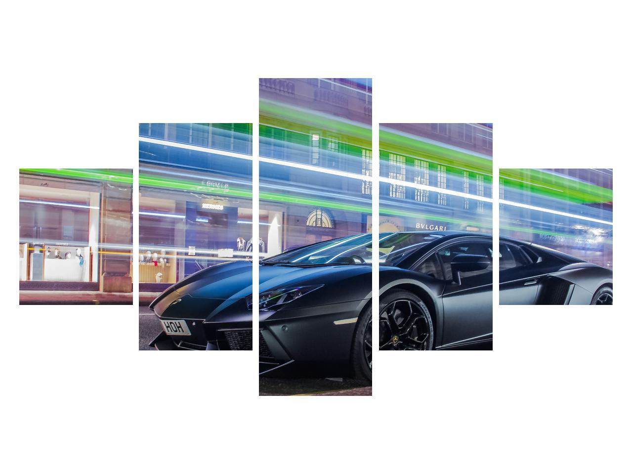 Tablou cu mașina rapidă (K011702K12570)