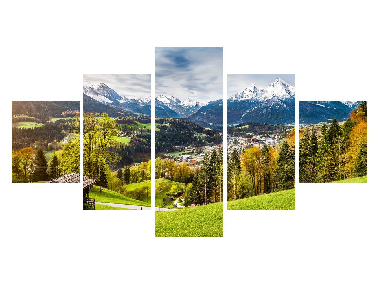 Tablou cu peisaj montan (K011867K12570)