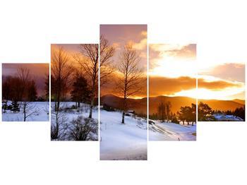 Obraz zimní krajiny (F000031F12570)