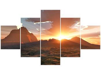 Obraz západu slunce (F000462F12570)