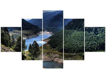 Obraz řeky a hor (F000615F12570)