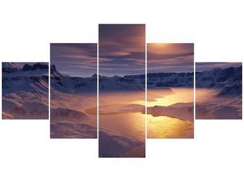 Krásný obraz zimní krajiny (F000939F12570)