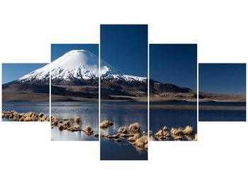 Obraz zasněžené hory (F000974F12570)