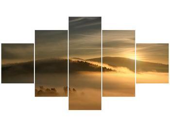 Obraz hor v mlze (F001451F12570)