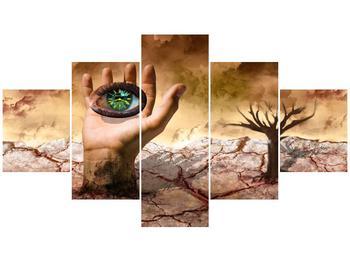 Obraz oka na dlaňi (F001485F12570)