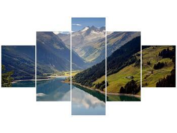 Obraz horského údolí (F001494F12570)
