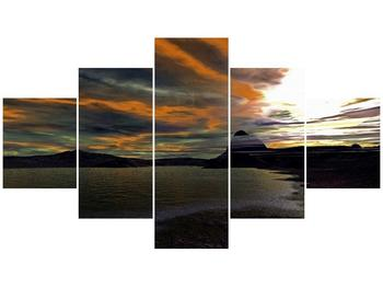 Obraz moře v temné obloze (F001564F12570)