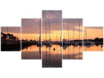 Obraz přístavu (F001605F12570)