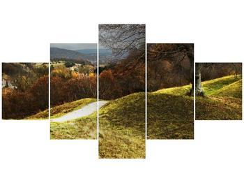 Obraz podzimního pahorku (F001650F12570)