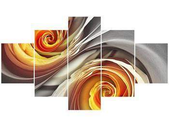 Abstraktní obraz - spirál (F001693F12570)