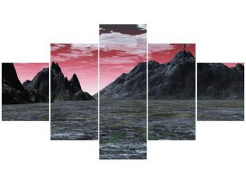 Obraz skalnaté přírody (F001712F12570)