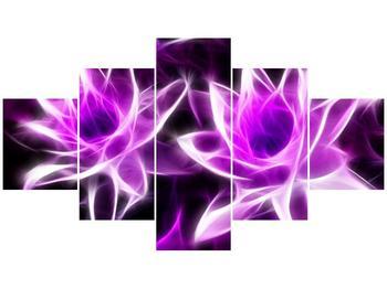 Moderní obraz květin (F001725F12570)