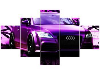 Obraz fialové Audi (F002349F12570)