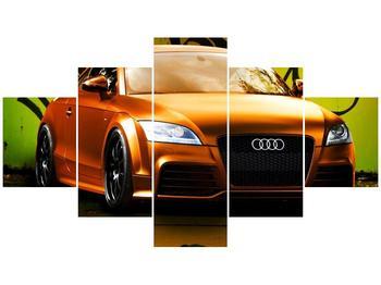 Obraz oranžové Audi (F002351F12570)