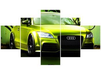 Obraz zelené Audi  (F003676F12570)