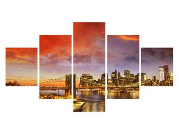 Tablou cu podul Brooklyn (K011278K12570)