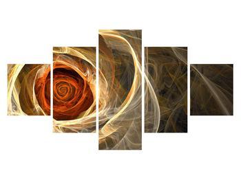 Moderní obraz růže (K011479K12570)