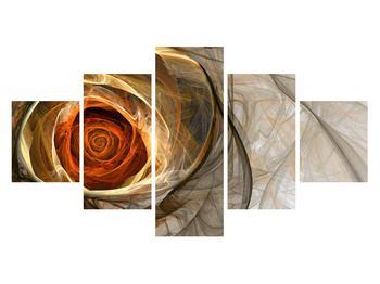 Moderní obraz růže (K011863K12570)