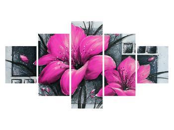 Tablou cu flori (K012456K12570)
