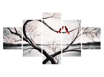 Zamilovaný obraz ptáků (K012527K12570)