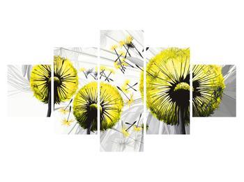 Tablou galben cu păpădii (K014028K12570)