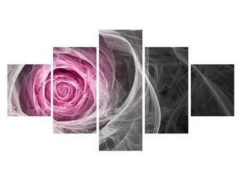 Abstraktní obraz růže (K014952K12570)