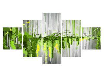 Abstraktní obraz - malba (K014961K12570)