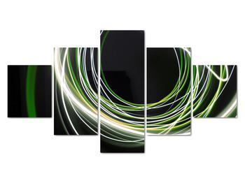 Obraz zelených čiar (V020054V12570)
