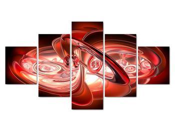 Obraz - červené tvary (V020064V12570)