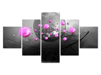 Obraz ružových gulí (V020105V12570)