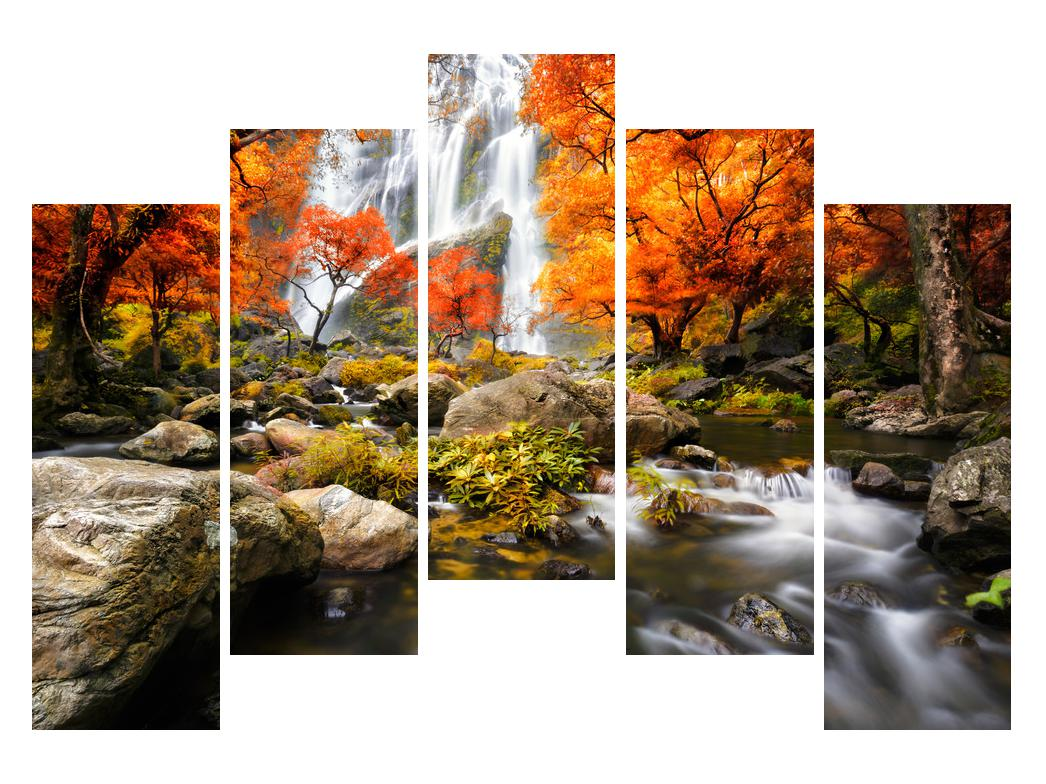 Slika jesenskog krajolika (K012335K12590)