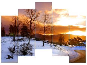 Obraz zimní krajiny (F000031F12590)