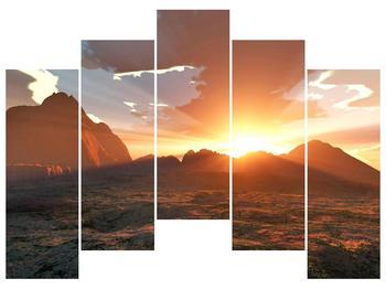 Obraz západu slunce (F000462F12590)