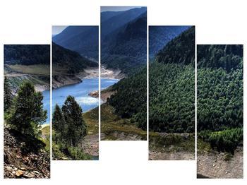 Obraz řeky a hor (F000615F12590)