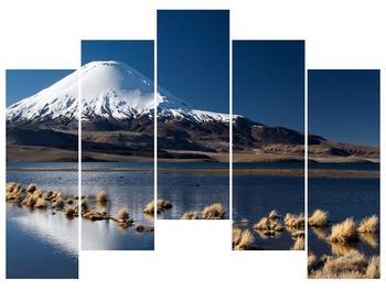 Obraz zasněžené hory (F000974F12590)