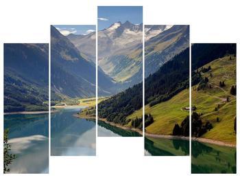 Obraz horského údolí (F001494F12590)