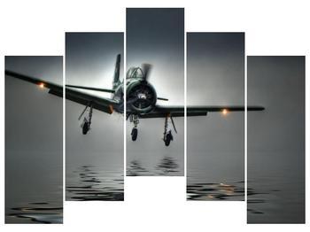 Obraz letadla  (F001593F12590)