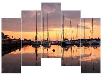 Obraz přístavu (F001605F12590)