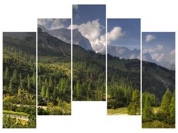 Krásný obraz hor (F001632F12590)