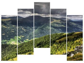 Obraz horského údolí (F001635F12590)