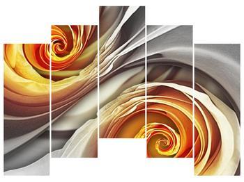 Abstraktní obraz - spirál (F001693F12590)