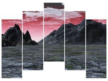 Obraz skalnaté přírody (F001712F12590)