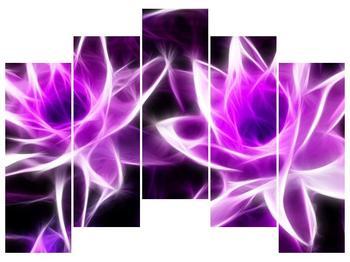 Moderní obraz květin (F001725F12590)