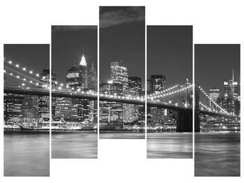 Moderní obraz - New York (F001800F12590)