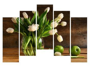 Obraz tulipánov vo váze (K011364K12590)
